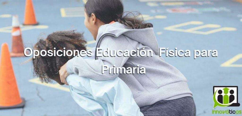 Preparador de Oposiciones Educación Física Primaria